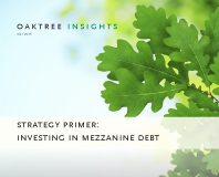 Investing in Mezzanine Debt