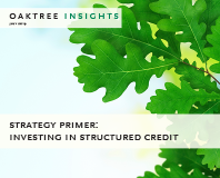 Investing in Structured Credit
